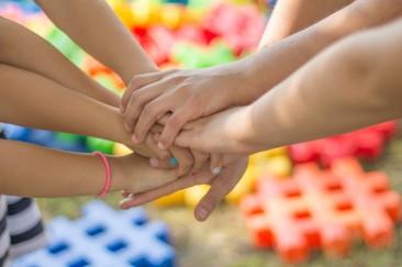 children hands